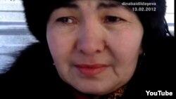 Нұрқия Бекболатова. Жаңаөзен, 13 ақпан 2012 жыл.