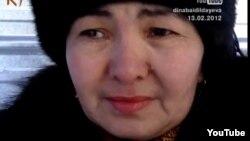 Нуркия Бекболатова, сестра нефтяника Нарына Жарылгасынова.