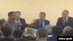 Собрание в компании UzGazOil, которая в феврале этого года сменила название на «Узбекнефтегаз».