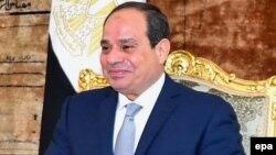 Абдель Фаттах әл-Сиси, Египет президенті.
