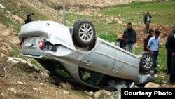 من حوادث المرور في دهوك
