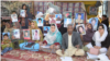 Families of Baluch victims of alleged enforced disappearances inside their protest camp in Quetta, Balochistan.