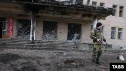 Проросійський сепаратист біля лікарні