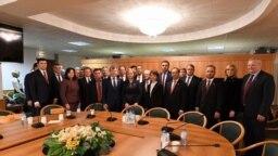 Delegaţia socialiştilor la Moscova