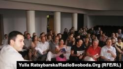 Під час громадських слухань