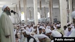 یک مسجد سنی در زاهدان