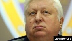 Виктор Пшонка Украинаның бас прокуроры кезінде.