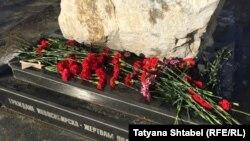 Один из мемориалов жертвам сталинских репрессий. Новосибирск, Россия