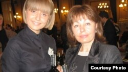 Tatiana Croitoru şi fiica sa Ruxanda