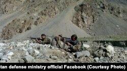 افغان ځواکونه د عملیاتو پرمهال- ارشیف