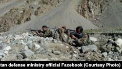د افغان ځواکونو یو انځور