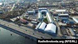 Рибальський острів у Києві, де упродовж останніх 22 років було серце бізнес-імперії Петра Порошенка та його партнерів