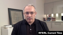 """Бывший глава ЮКОСА Михаил Ходорковский, основатель движения """"Открытая Россия""""."""