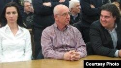 Пресуда за поранешниот сопственик на А1 телевизија Велија Рамковски во Судот во Скопје.