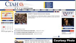 Сот шешімі бойынша жабылған Stan.kz сайтының скриншоты. 10 желтоқсан 2012 жыл.