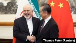 دیدار محمد جواد ظریف و وانگ یی وزیر خارجه چین