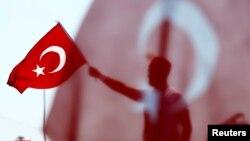 R.T.Erdoğan tərəfdarlarının yürüşü 2016
