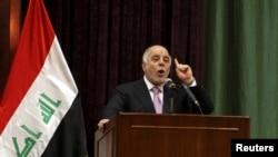 Kryeministri i Irakut, Haider al-Abadi.