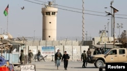 The attack took place near Bagram Airfield, the largest U.S. base in Afghanistan. (file photo)