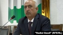 Давлатбек Хайрзода. экс-зампредседателя Агентства по финансовому контролю и борьбе с коррупцией Таджикистана