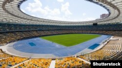 Домашня арена «Динамо», НСК «Олімпійський», готується в цьому сезоні прийняти фінал Ліги чемпіонів УЄФА