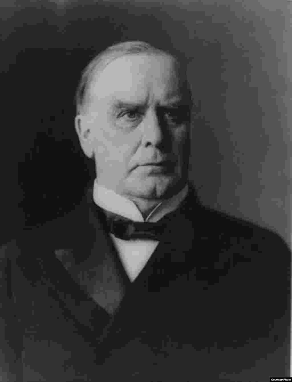 U.S. President William McKinley was shot by a lone assassin in Buffalo, New York, on September 5, 1901. - McKinley's assassin was anarchist Leon Frank Czolgosz. McKinley, a bullet still lodged in his back, died on September 14 from complications surrounding his wounds.