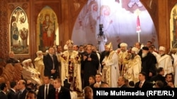 В коптской церкви в Александрии (Египет)