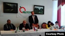 Конференция поддержала кандидатуру Сергея Митрохина на пост председателя общероссийской партии. Выборы пройдут на съезде «Яблока» в декабре