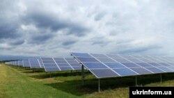 Ілюстративне фото: Сонячна електростанція «Старі Богородчани-1», Івано-Франківська область