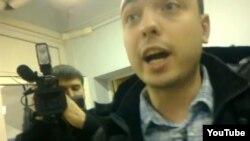 """Журналисты НТВ в офисе """"Голоса"""""""