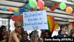 Гей-парад в Германии. Фото из архива