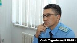 Прокурор Марат Абуев на заседании по делу Болатхана Жунусова. Талдыкорган, 16 сентября 2019 года.