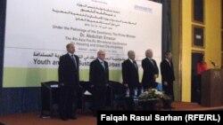 جانب من وقائع مؤتمر وزراء الإسكان والتنمية الحضرية في دول آسيا والمحيط الهادئ