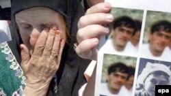 Jedna od majki iz Srebrenice