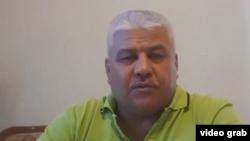 Ташкентский предприниматель Олим Сулаймонов. Скриншот с его видеообращения.