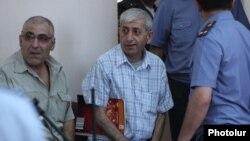 Шант Арутюнян в зале суда, 12 июня 2014 г․
