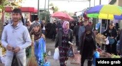 Рынок в Таджикистане. Иллюстративное фото.