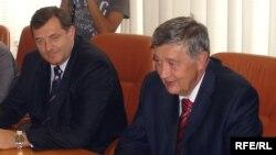 Milorad Dodik i Nebojša Radmanović, foto: Tina Jelin