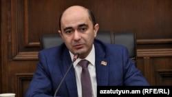 Глава фракции «Лусавор Айастан» Эдмон Марукян