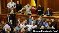 Верховна Рада України, 6 жовтня 2017 року