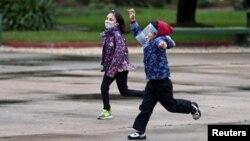Արգենտինա - Երեխաներ Բուենոս Այրեսի թաղամասերից մեկում, հուլիս, 2020թ.