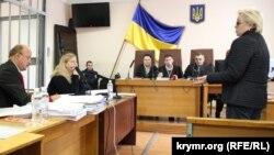 Допрос журналистки Татьяны Рихтун на суде по делу Владимира Галичего, 18 октября 2016 года