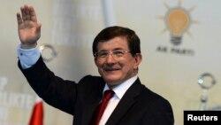 Премиерот на Турција Ахмет Давутоглу.