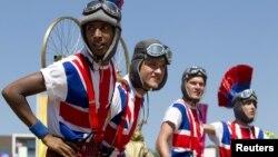 В Олимпийской деревне Лондона, 2012