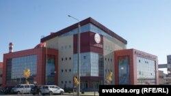 Адміністрацыйны корпус новага крычаўскага заводу
