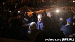 Բելառուսական ընդդիմությունը բողոքում է «Զապադ-2017» զորավարժությունների անցկացման դեմ, Մինսկ, 8-ը սեպտեմբերի, 2017 թ․