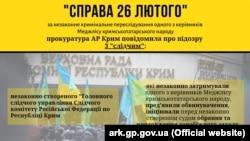 Инфографика Прокуратуры АРК