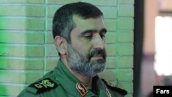 Amir Ali Hajizadeh, the head of the Iranian Aerospace Force