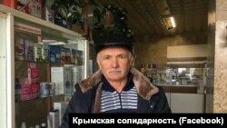 Активіст кримськотатарського національного руху Нурі Османов
