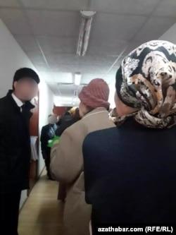 Районный отдел социального обеспечения Копетдагского этрапа Ашхабада, январь, 2020
